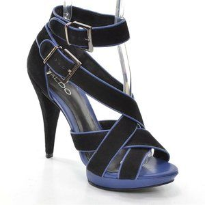 Aldo Platform Ankle Strap High Heel Sandals 39